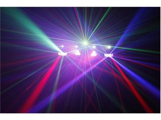 JB Systems - LED Party Bar - 2 Derbys + 2 Spots + 4 Strobes + Laser + Case + STATIV