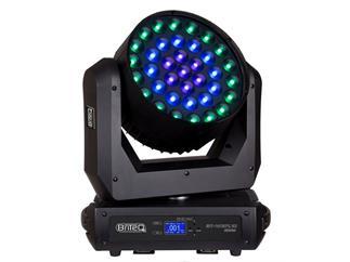 Briteq - BT-W37 L10 Zoom - 37 x 10W RGBW OsramOstar-LEDs