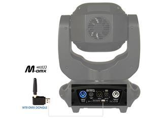 BriteQ - BT-Meteor 100W LED Moving-Head + WTR-DMX USB Dongle