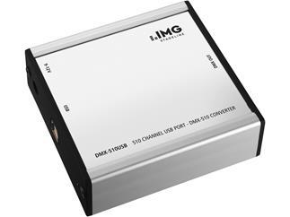 IMG STAGE LINE DMX-Controller DMX-510USB