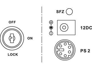 IMG STAGE LINE Laser-Effektgeraete LSX-300TEXT - GEBRAUCHT
