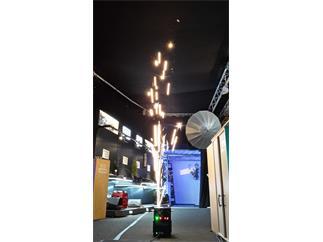 LIGHT4ME Spark, professionelle, KaltfunkenFontäne, Kundenretoure