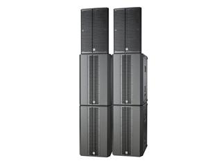 HK Linear 5 Big Venue Pack, Komplettsystem, inkl. Schutzhüllen