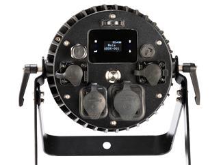 LITECRAFT BX.7 IP65, RGBW, 10°, Akku, DMX 512, LumenRadio CRMX, Frostfilter, powerCON True1 In/Out, XLR 5 pol, schwarz