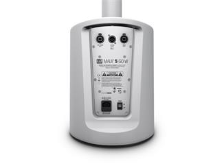 LD Systems MAUI 5 GO W - Ultra portables batteriebetriebenes Säulen PA System weiß
