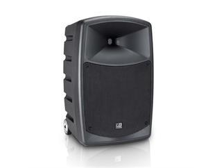 LD Systems Road Buddy 10 - Akku Bluetooth Lautsprecher mit Mixer und Funkmikrofon