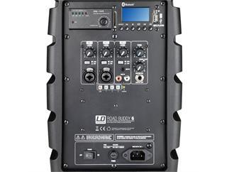 LD Systems Road Buddy 6 - Akku Bluetooth Lautsprecher mit Mixer und Funkmikrofon