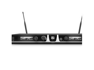 LD Systems U505 BPL 2 - Funkmikrofon System mit 2 x Bodypack und 2 x Lavalier Mikrofon