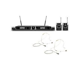 LD Systems U506 BPL 2 - Funkmikrofon System mit 2 x Bodypack und 2 x Lavalier Mikrofon