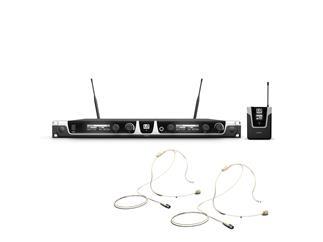 LD Systems U508 BPHH - Funkmikrofon System mit 2 x Bodypack und 2 x Headset