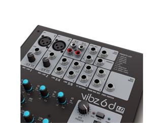 LD Systems VIBZ 6 D - 6-Kanal Mischpult mit DFX