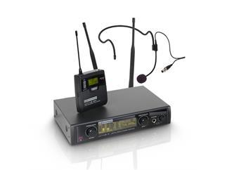 LD Systems WIN 42 Serie - Funkmikrofon System mit Belt Pack und Headset