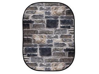 Lastolite LL LB5711 Textilhintergrund Urban (1,5m x 2,1m) Backstein Rot/Grau