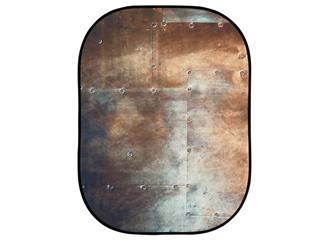 Lastolite LL LB5712 Textilhintergrund Urban (1,5m x 2,1m) Wellblech/Metall