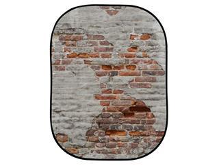 Lastolite LL LB5713 Textilhintergrund Urban (1,5m x 2,1m) Rost/Backstein