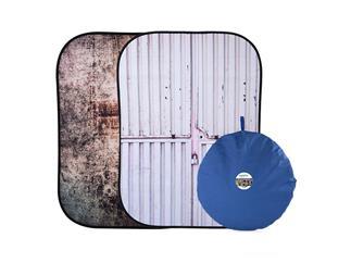 Lastolite LL LB5718 Textilhintergrund Urban (1,5m x 2,1m) Metall/Container