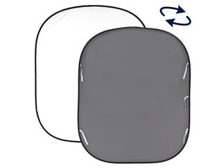 Lastolite LL LB67GW Falthintergrund Doppelseitig Weiß/Grau 180x215cm