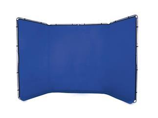 Lastolite LL LB7943 Panorama Hintergrund 4m (Chromakey Blau)