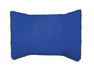 Lastolite LL LB7963 Überzug für Panorama Hintergrund 4m (Chromakey Blau)