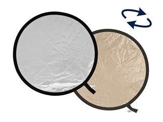 Lastolite LL LR1228 Rundreflektor Sunlite/Soft Silber 30cm