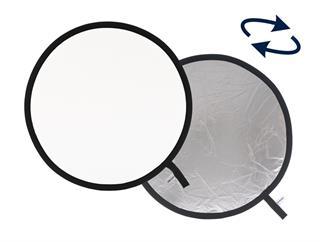 Lastolite LL LR30331 Rundreflektor Silber/Weiß 75cm