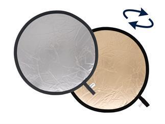 Lastolite LL LR1236 Rundreflektor Sunfire/Silber 30cm