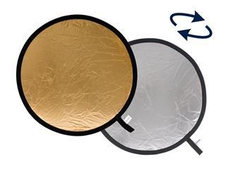 Lastolite LL LR3834 Rundreflektor Silber/Gold 95cm