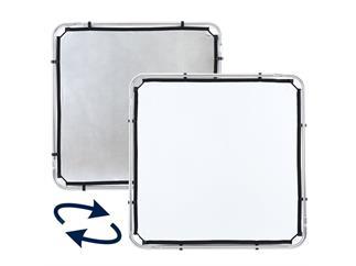 Lastolite LL LR81131R Skylite Rapid Fabric Small 1.1 x 1.1m Silver/White