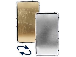 Lastolite LL LR81234R Skylite Rapid Fabric Medium 1.1 x 2m Gold/Silver
