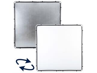 Lastolite LL LR82231R Skylite Rapid Fabric Large 2 x 2m Silver/White, nur Bespannung