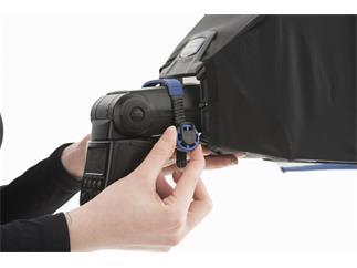 Lastolite LL LS2430 Ezybox Speedlite 2: Softbox für Systemblitze 22x22cm