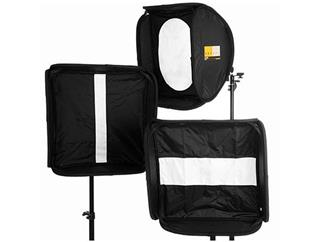 Lastolite LL LS2469 Ezybox Maskenset mit Rund-/Strip + Catchlightmaske 60x60cm