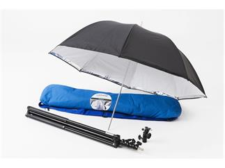 Lastolite LL LU2476F Umbrella Kit 99cm + Stand & 2402 Tilthead