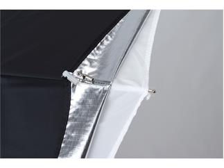 Lastolite LL LU3237F Umbrella All In One 72cm Silber/Weiß