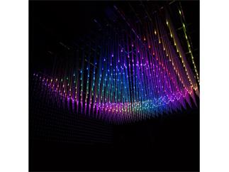 SGM LT-100 LED 3D Graphic Tube 1m, 27 RGB Pixel, 35mm Pitch, 25mm Durchmesser, IP20