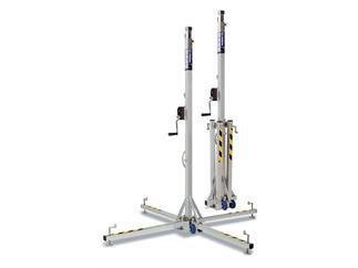 WORK LW 135 RB Teleskoplift - schwarz 100kg bis zu 3,5m Höhe