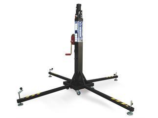 WORK LW 255 R Teleskoplift - silber 220kg bis zu 5,30m Höhe