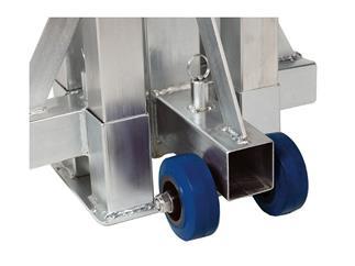 WORK LW 150 R Teleskoplift - silber 100 kg bis zu 5,00m Höhe