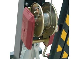 WORK LW 480 R Teleskoplift - silber 330kg bis zu 8,3m Höhe