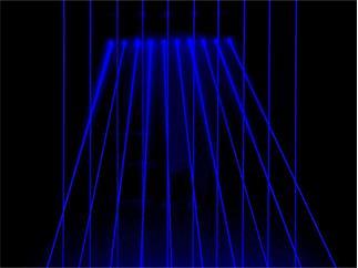 Laserworld BeamBar 10B 450nm, 1.400mW