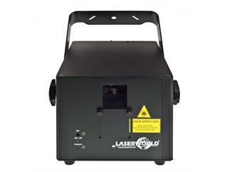 Laserworld CS-2000RGB MKII, DMX, ILDA, Sound