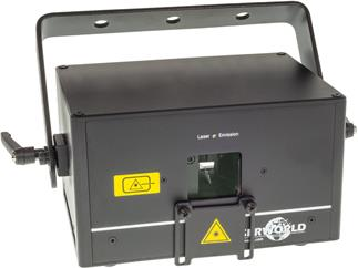 Laserworld DS-1000RGB, Diode Serie, 30kpps@8°