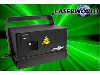 Laserworld DS-1200G GRÜN DMX, ILDA, Sound