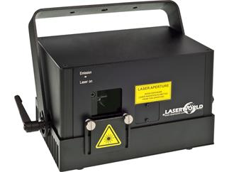 Laserworld DS-2000G GRÜN DMX, ILDA, Sound