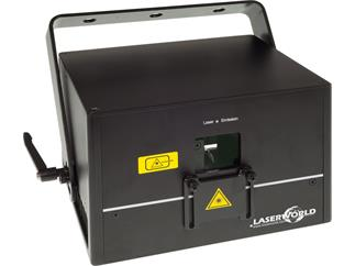 Laserworld DS-2000RGB, Diode Serie, 30kpps@8°