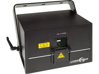 Laserworld DS-2000RGB, Diode Serie, 30kpps@8°, ILDA, DMX, Automodus, Musikmodus