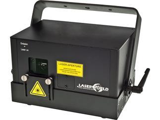 Laserworld DS-6000B BLAU DMX, ILDA, Sound