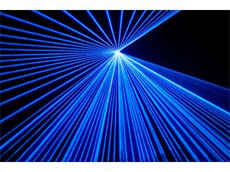 Laserworld DS-6000B BLAU DMX, ILDA, Sound
