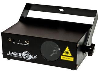 Laserworld EL-150B 150mW Laser, blau