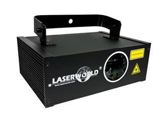 LASERWORLD EL-200 RGY 200mW, DMX, Auto, Sound, B-Ware